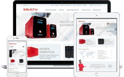 Salicru estrena nueva web