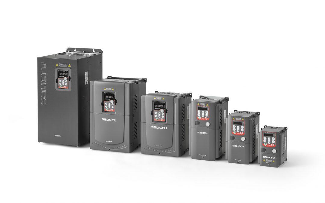 Salicru lanza al mercado Controlvit, una nueva gama  de variadores de frecuencia