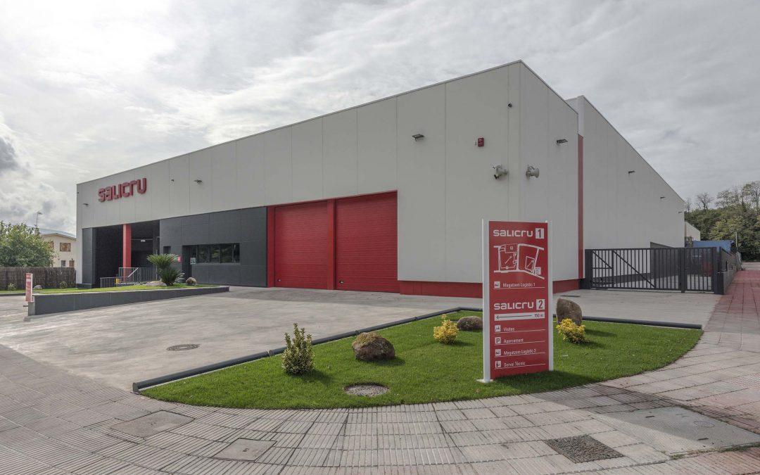 Salicru inaugura el seu nou magatzem logístic i de distribució
