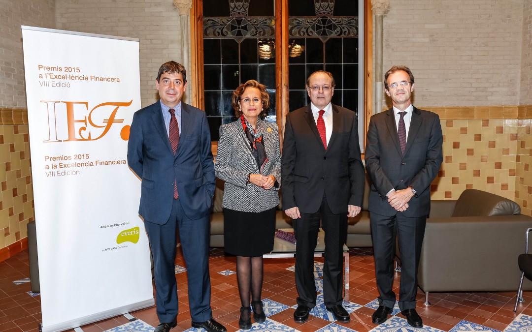 Entregados los Premios IEFa la Excelencia Financiera 2015