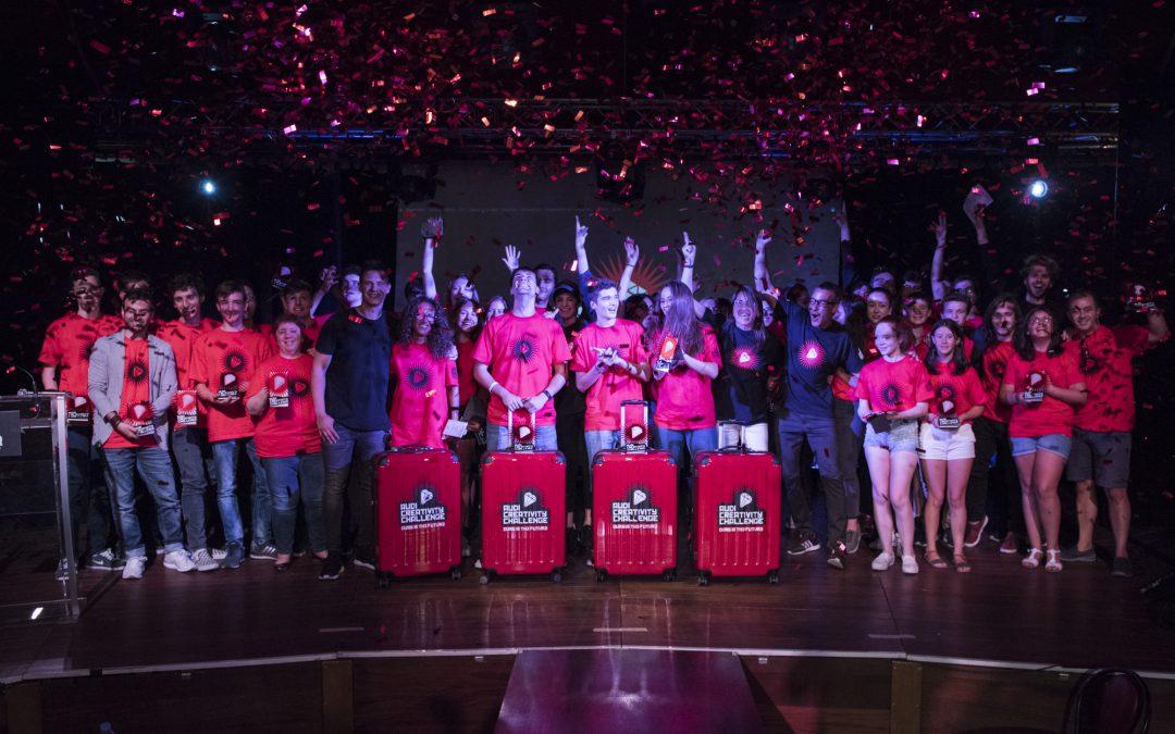 El equipo Dip Team, con el proyecto Wherever You Want, ganador de la 2ª edición del Audi Creativity Challenge