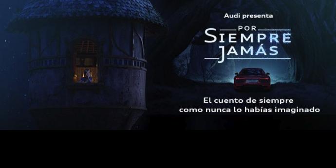 Audi España presenta un corto de animación que convierte a una joven en una piloto de carreras