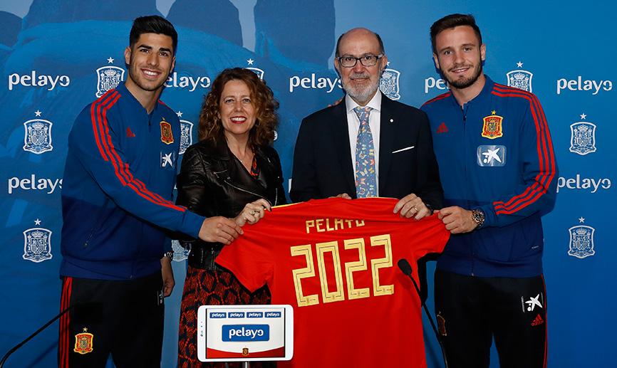 Pelayo renueva su patrocinio de la Selección Española de Fútbol hasta el Mundial de Qatar 2022
