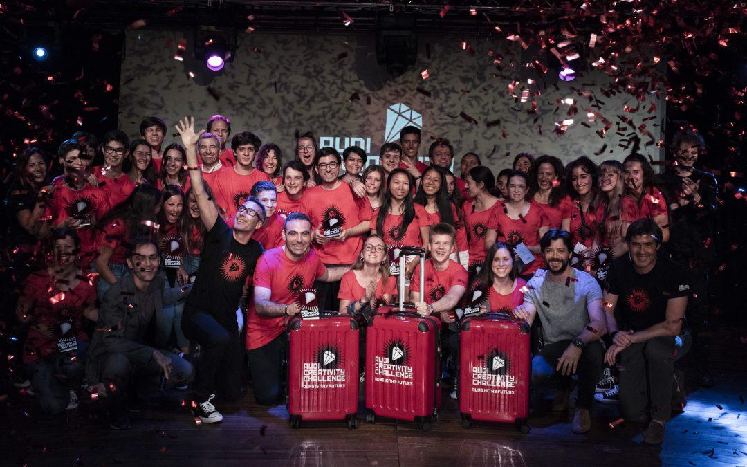 Una plataforma que promueve la ayuda voluntaria   gana la 4ª edición del Audi Creativity Challenge